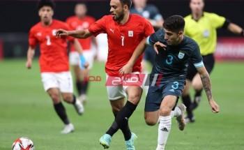 نتيجة مباراة مصر وأستراليا أولمبياد طوكيو