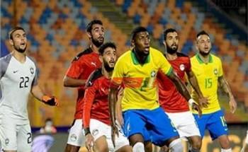 نتيجة مباراة مصر والبرازيل أولمبياد طوكيو 2020