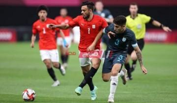 مصر تتلقى هزيمة أمام الأرجنتين في أولمبياد طوكيو