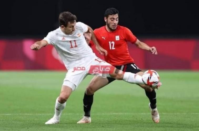 مصر تخطف نقطة أمام إسبانيا بدورة الألعاب