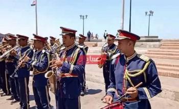 موسيقي عسكرية وموكب ضخم احتفالا بالعيد القومي الـ 69 لمحافظة الإسكندرية