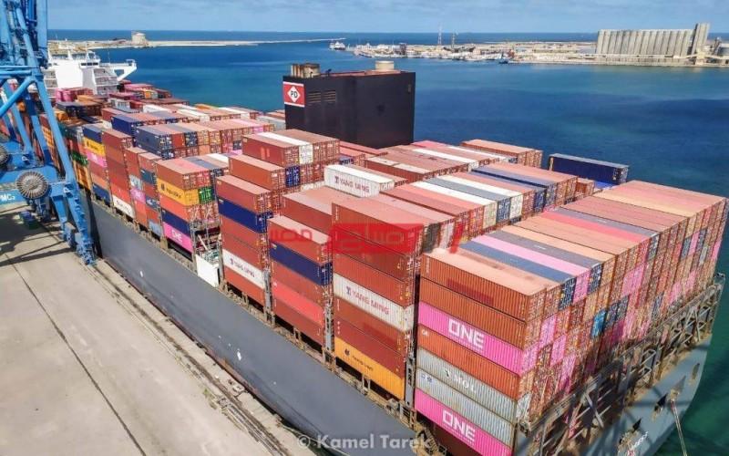 التعامل مع 26 سفينة من خلال ميناء دمياط ووصول 684 طن ابلاكاش