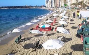 الأرصاد الجوية تحذر المواطنين من ارتفاع موج البحر في شواطئ الإسكندرية اليوم