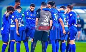 الهلال السعودي آخر أخبار النادي وموعد المباراة القادمة