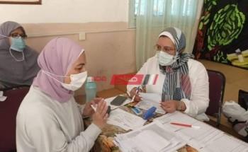 انطلاق تطعيم العاملين في قطاع التعليم قبل الجامعي للمعلمين والموظفين والعمال بالإسكندرية