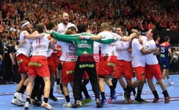 نتيجة مباراة الدانمارك والنرويج كرة اليد أولمبياد طوكيو