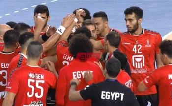 ملخص ونتيجة مباراة مصر وألمانيا كرة اليد أولمبياد طوكيو