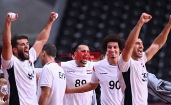 فيديو ملخص ونتيجة مباراة مصر وفرنسا كرة اليد أولمبياد طوكيو 2020