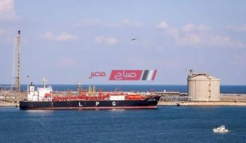تصدير 61 الف طن من الغاز المسال الى باكستان عبر ميناء دمياط
