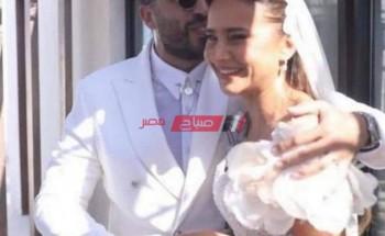 هند صبري تهنئ نيللي كريم بحفل زفافها علي هشام عاشور