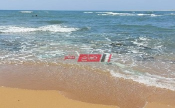 ارتفاع موج البحر وأجواء خريفية علي الإسكندرية اليوم