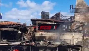 تفاصيل اشتعال النيران في مطعم شهير بمنطقة جليم في الإسكندرية