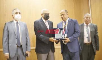 مدير الطب البيطري بدمياط يشارك في المؤتمر العلمي الدولي بجامعة المنصورة