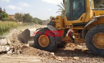 حملات إزالة تعديات علي أراضي الدولة بمحافظة الإسكندرية