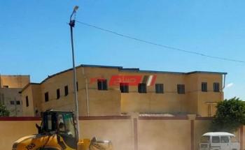 حملات تنظيف وتعقيم المدارس علي مستوي محافظة الإسكندرية