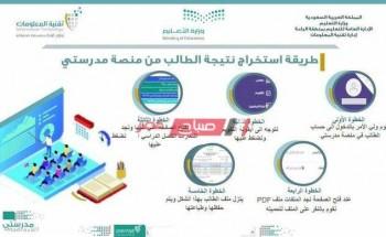 رابط موقع اختبارات منصة مدرستي 1443 في السعودية