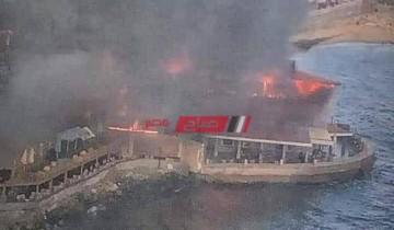 تعرف علي سبب حريق مطعم جليم بمحافظة الإسكندرية