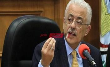 وزير التعليم يكشف عن خطة الدراسة في حالة الموجه الرابعة من كورونا