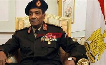 إعلان الحداد 3 أيام علي وفاة المشير محمد حسين طنطاوي