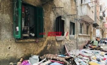 وفاة مواطن وإصابة شخصين في انهيار سقف شقة في الإبراهيمية بمحافظة الإسكندرية