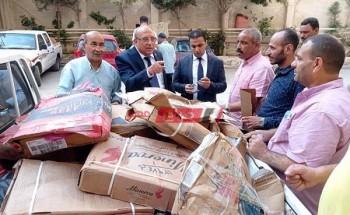 تموين الإسكندرية تضبط 11 طن كبدة فاسدة وغير صالحة للاستهلاك الآدمي