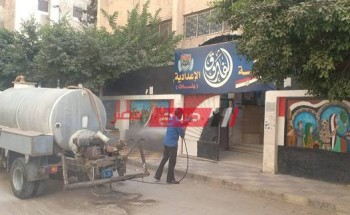 استعدادات مكثفة في جميع مدارس محافظة الإسكندرية لاستقبال العام الدراسي الجديد