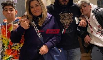 حسام حسني يهنئ والدته بمناسبة بعيد ميلادها