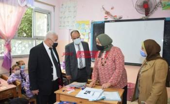 مدير تعليم الإسكندرية يتفقد عدة مدارس لمتابعة انتظام وسير العملية التعليمية اليوم