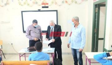 مدير تعليم الإسكندرية يتفقد عدد من المدارس لمتابعة انتظام الدراسة والكثافة في الفصول