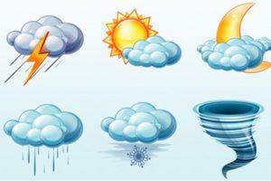 سقوط أمطار خفيفة على السواحل الشمالية اليوم وغداً