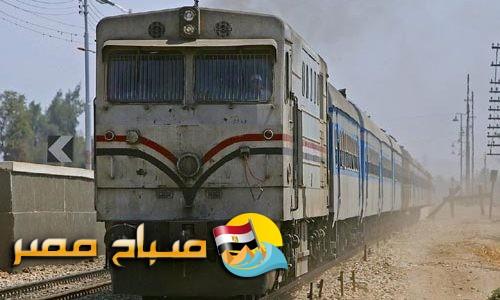 مصرع طالب واصابة شخصان بسبب سقوطهم من قطار الاسكندرية القاهرة