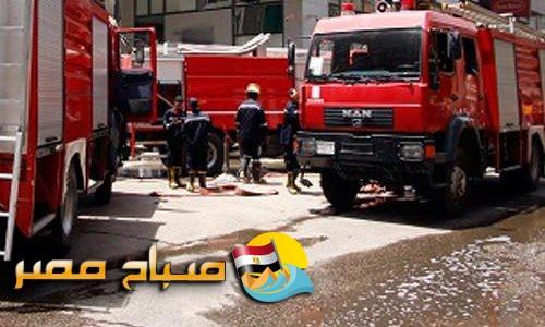 نشوب حريق بمطعم بيتزا بسبب ماس كهربائي بالإسكندرية