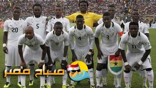 تعرف على تشكيل غانا لمواجهة أوغندا اليوم