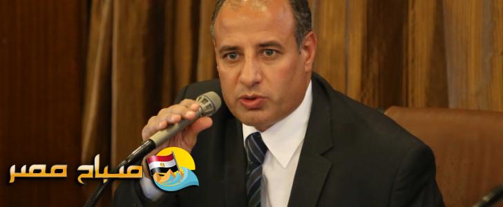 محافظ الإسكندرية يصل لمحكمة التجمع للإدلاء بأقواله فى محاكمة سعاد الخولي