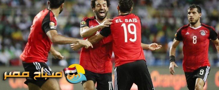 تعرف على التشكيل المتوقع لمباراة مصر والكونغو اليوم الاحد