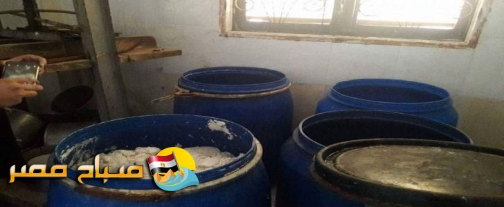 ضبط نصف مليون طن ليمون مملح داخل براميل مواد كياوية فى بورسعيد