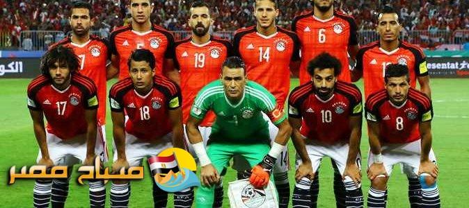 موعد مباراة مصر والكونغو يوم الاحد القادم 2017\10\8