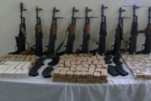 حملة أمنية على نطاق واسع في الغربية تسفر عن ضبط كمية من المخدرات والأسلحة النارية