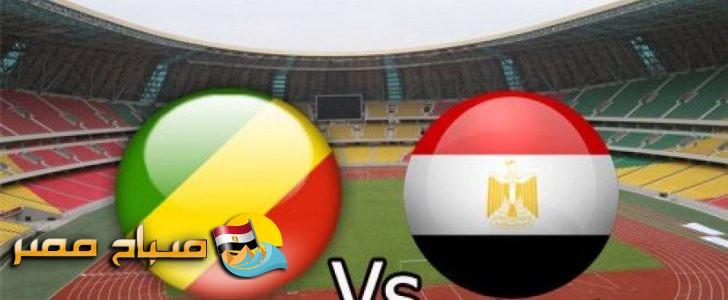تعرف على القنوات الناقلة لمباراة مصر والكونغو وتوقيت المباراة