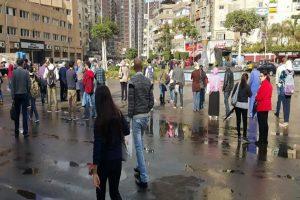 هطول أمطار على مناطق متفرقة من الاسكندرية الآن.. مع توقعات بتقلبات جوية خلال اليوم