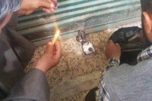 غلق وتشميع مطعم مخالف بمنطقة جليم فى الإسكندرية