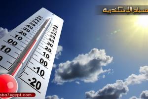 هطول أمطار على عدة مناطق بالاسكندرية