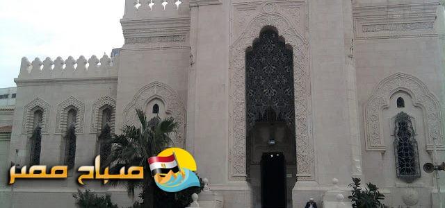 صلاة الغائب على شهداء مسجد الروضة بمساجد الإسكندرية