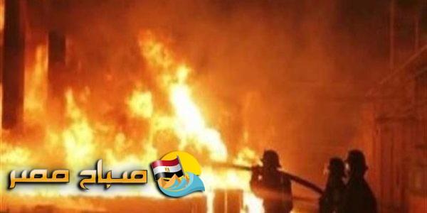 السيطرة على حريق فى مصنع سيراميك في السويس