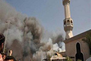 استشهاد آخر مصابى حادث مسجد الروضة بعد أكثر من شهر