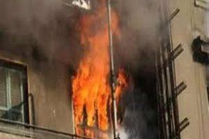 اندلاع حريق فى شقة بالبحيرة يسفر عن اصابة 3 أشخاص