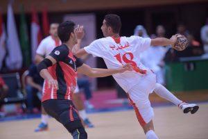نتائج مباريات اليوم الاول فى البطولة العربية 9 لمنتخبات الناشئين لكرة اليد
