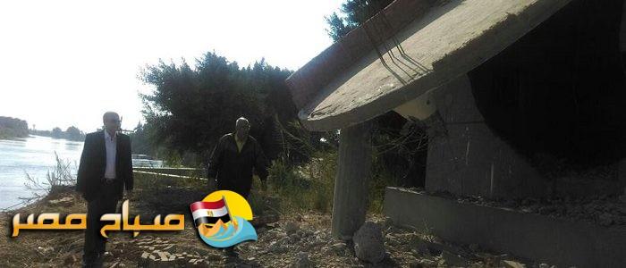 بالصور محافظ القليوبية يتابع ازالة منزل على الرياح التوفيقى فى طوخ مقام على مساحة كبيرة