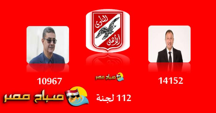 نتيجة تصويت انتخابات النادى الاهلى 2017