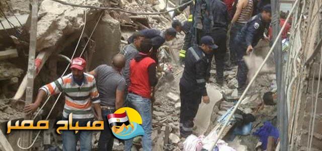 إخلاء عقار مأهول بالسكان قبل انهياره بالاسكندرية